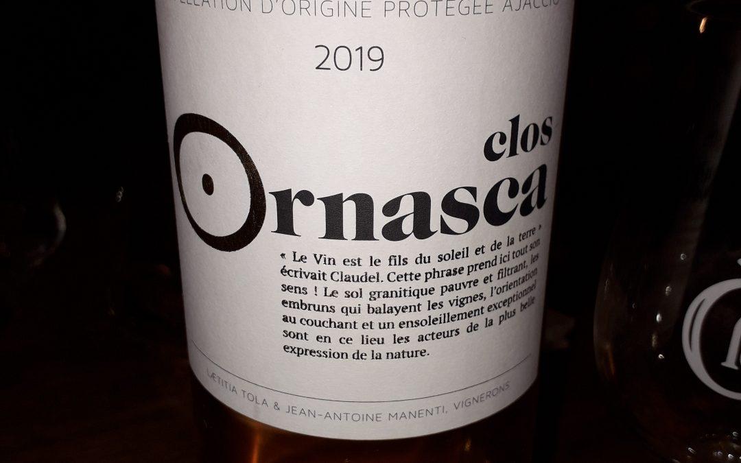 Ajaccio 2019 Clos Ornasca