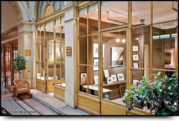 La Galerie d'Art Martine Moisan, au coeur de Paris …